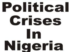 Major political crisis in nigeria