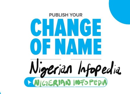 change of name in Nigeria