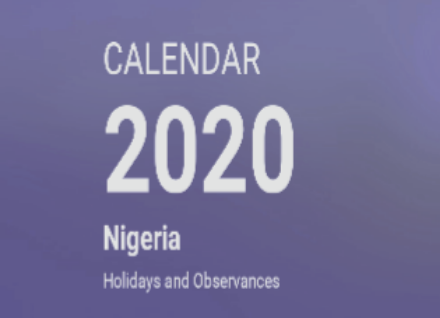 national public holidays in nigeria