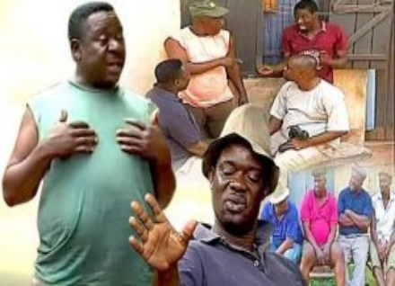 Charles Inojie and Mr. Ibu in a Nollywood film cover