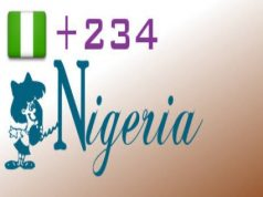 area dailing codes for Nigerian cities
