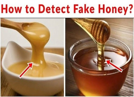 fake honey and original honey