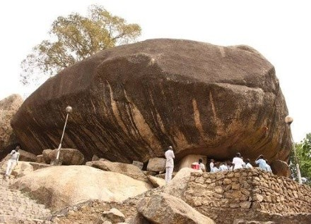 olumo rock major popular rock in Nigeria