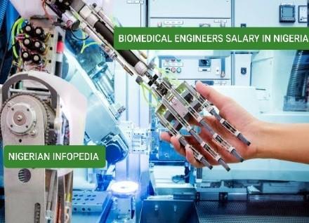 biomedical engineers salary in Nigeria