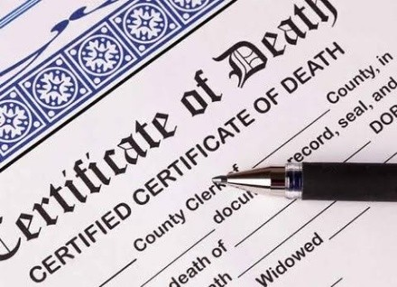 death certificate in nigeria
