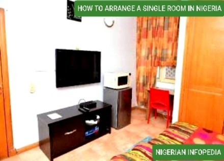 how to arrange a single room in nigeria