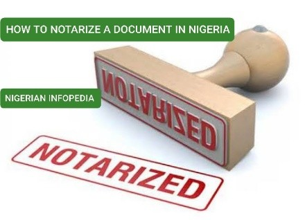 how to notarize a document in Nigeria