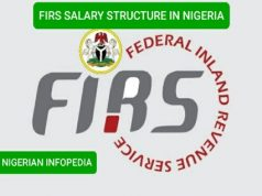FIRS salary structure in Nigeria