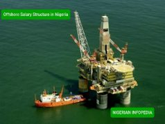 Offshore salary structure in Nigeria