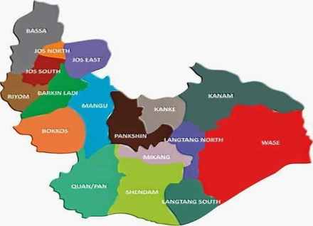 map of Plateau state