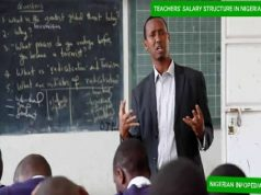 teacher's salary structure in Nigeria