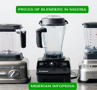 prices of blenders in Nigeria