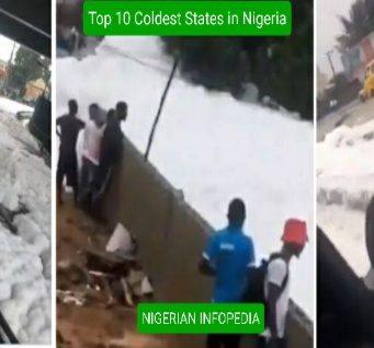 coldest states in Nigeria