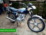 prices of motorcycles okada in nigeria
