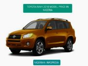Toyota RAV4 2010 price in Nigeria