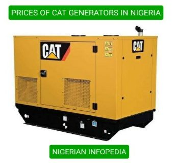 cat generator prices in Nigeria