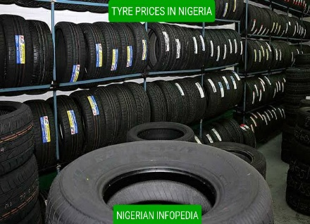 prices of tyres in Nigeria