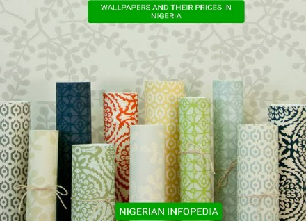 wallpapers and their prices in Nigeria