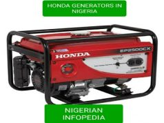 honda generators in Nigeria and their prices