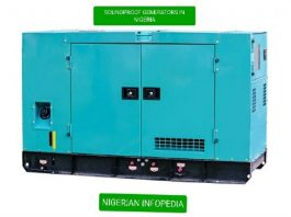 soundproof generators in Nigeria
