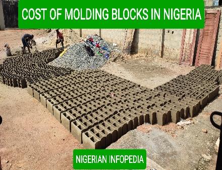 cost of moulding blocks in Nigeria